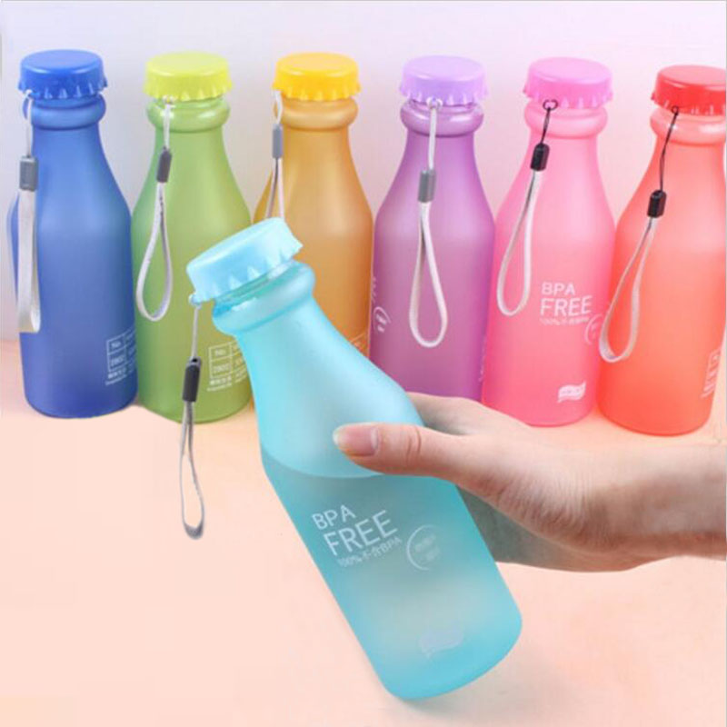 New Hot Sale Portable Leak-proof sports water bottle 550ml Plastic Water Bottle(China (Mainland))