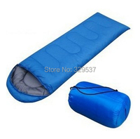 Cheapest  Free Shipping Winter Outdoor Sleeping Bag Mummy Type Outdoor cotton sleeping bag camping winter 15 Degree