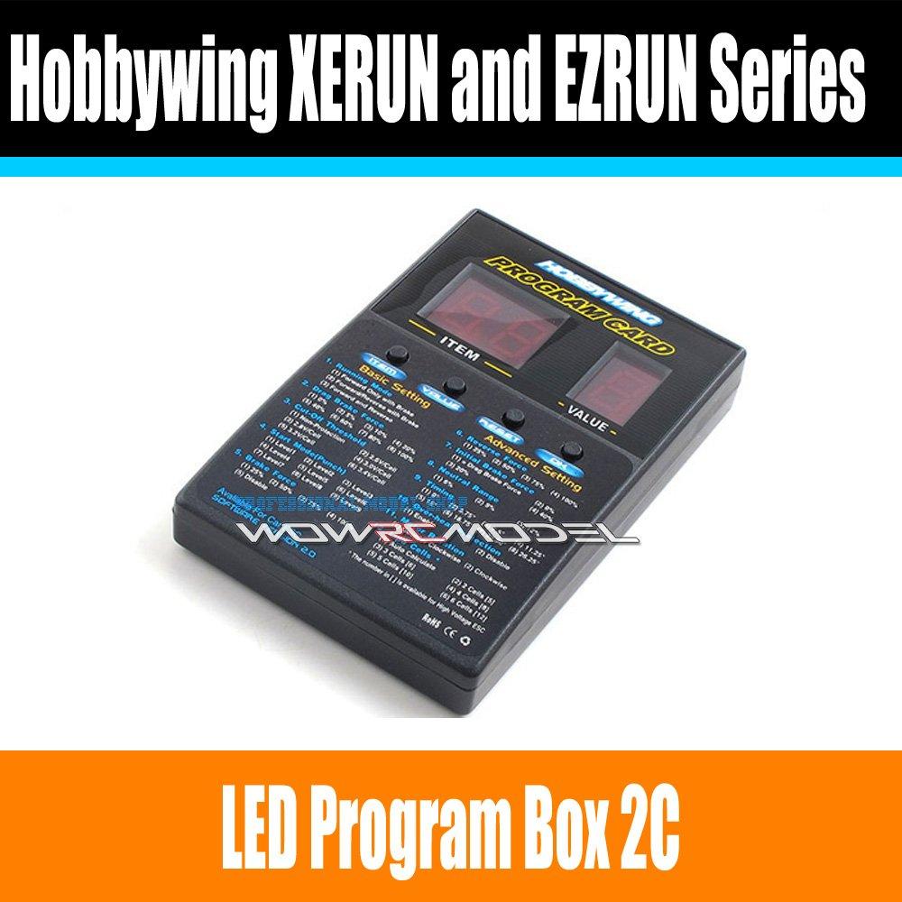 Hobbywing RC Car Program Card LED Program Box 2C 86020010 Programm Card For XERUN and EZRUN Series Car Brushless ESC(China (Mainland))