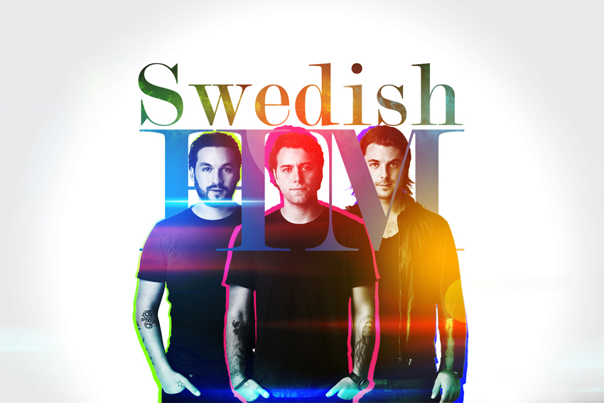Swedish House Mafia Electric music team Poster Art Wall Pictures for Living Room Canvas Fabric Cloth Print(China (Mainland))