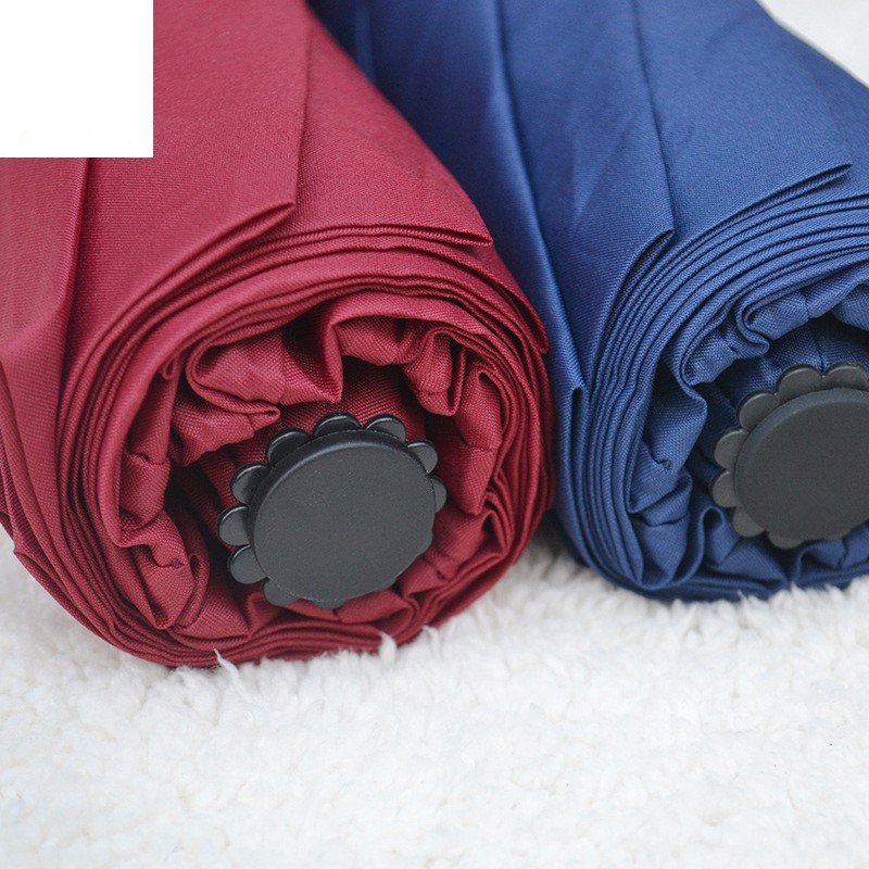 Business Luxury Men Umbrella 3 Folding Full Automatic Umbrella Super Windproof 10 Rib Fashion Blue Red Lady Umbrella Rain Women22