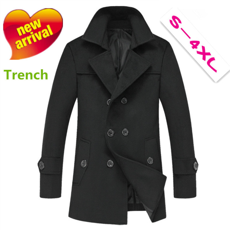 New thick fall winter Men long trench coat &amp; hoodies ,Mens winter coat Slim long coat male models thick hooded windbreakerОдежда и ак�е��уары<br><br><br>Aliexpress
