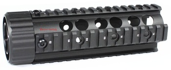 Vector Optics .223 rem 5.56 Free Float RAS Handguard Carbine Length Quad Pictinny Rail System Mount Free 12x Covers & Shipping