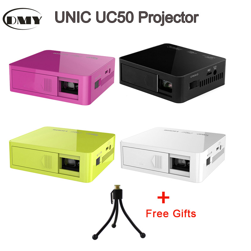 2016 newest free shipping uc50 projector mini pico for Mp50 portable hdmi projector