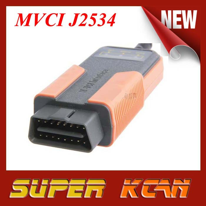 2015 New arrival MVCI J2534 Newest version V8.10.021 MVCI For TOYOTA cars free shipping MVCI(China (Mainland))