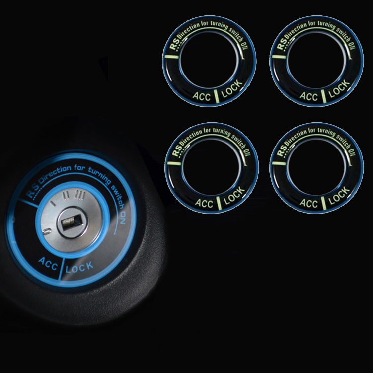 New Fashion Luminous Lighting Ignition Switch Key Cover for HONDA City,for Civic,Ciimo,Accord,Fit,CR-V Car Exterior Accessories<br><br>Aliexpress