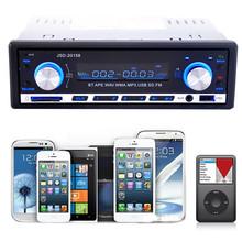 Alta Calidad 2016 Nuevo Bluetooth Car Audio Estéreo En el Tablero de FM Receptor de Entrada Aux de Radio MP3 USB Reproductor de CD(China (Mainland))