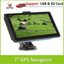 "7"" 713F Touch Screen Car / Vehicle GPS Entertainment  Navigator Support Bluetooth Mini USB Port SD Card(China (Mainland))"