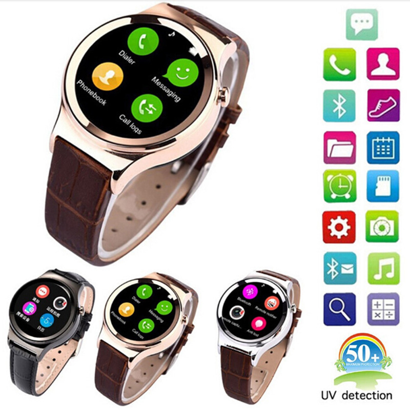 2016 New Arrival Smart Watch T3 Smartwatch Support SIM SD Card Bluetooth WAP GPRS SMS MP3 MP4 USB For iPhone And Android Phone(China (Mainland))