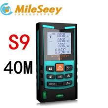 laser distance meter diastimeter Mileseey S9 40M,60M,80M,100M rangefinder Blue - Instruments World store
