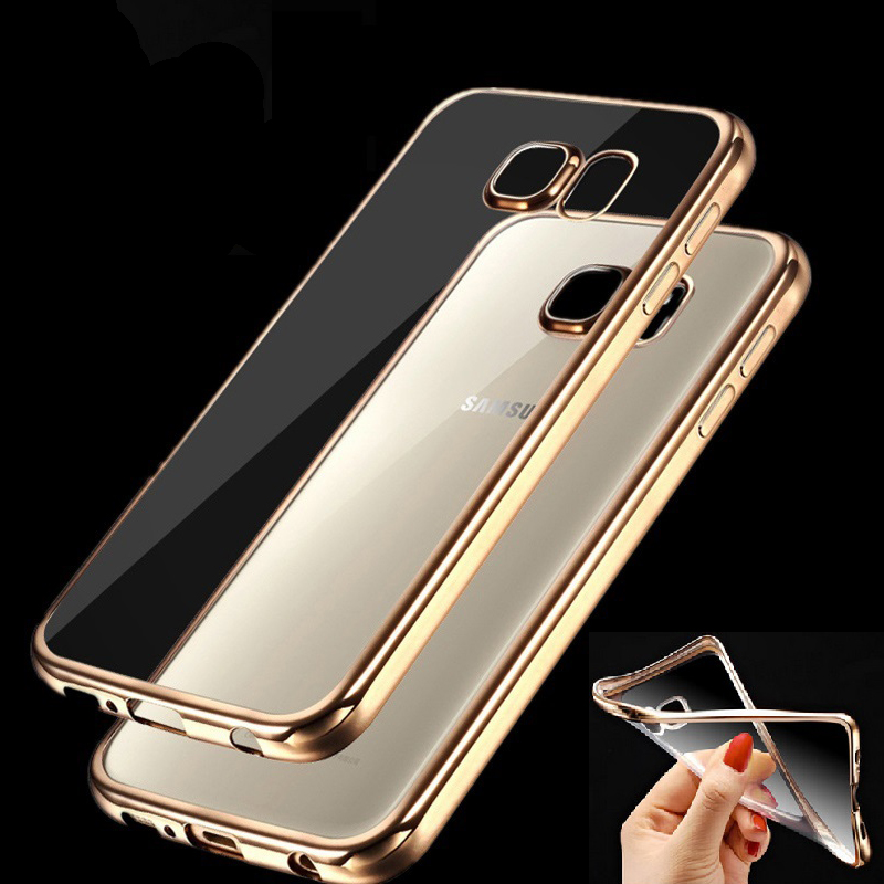 Case for Samsung Galaxy J1 J3 J5 J7 A3 A5 A7 2016 Grand Prime G530 S5 S6 S7Edge Fashion Luxury High Quality Plating Design Cover(China (Mainland))