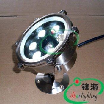 Free shipping factory wholesale 12V 6W led underwater light led pool light high power led underwater light(China (Mainland))