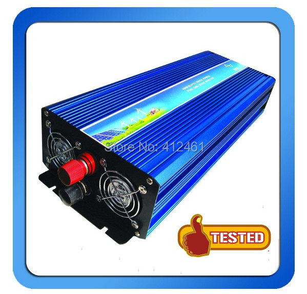 24VDC 120/220VAC, 50/60Hz 3000W Off-grid Pure Sine Wave Solar Inverter or wind inverter ,Two year Warranty<br><br>Aliexpress