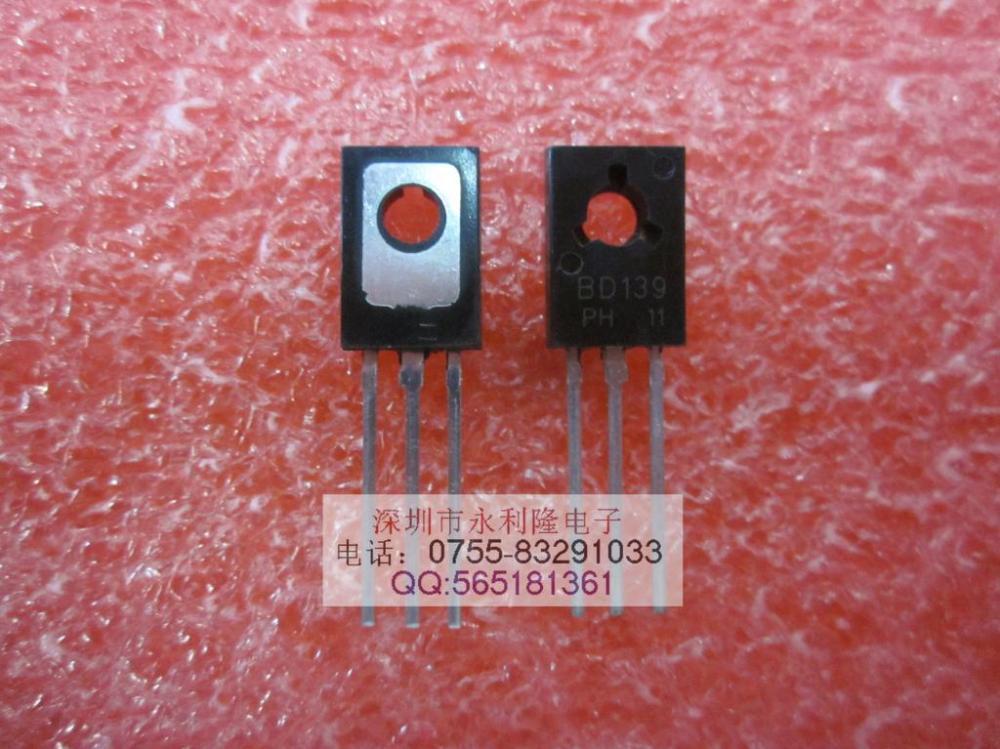 STMICROELECTRONICS BD139 BIPOLAR TRANSISTOR