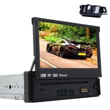 Bluetooth Digital Media Receiver 1 DIN Bluetooth Car Stereo Audio FM Radio Receiver MP3 Player AUX Input/USB Port/SD Card Slot/R(China (Mainland))