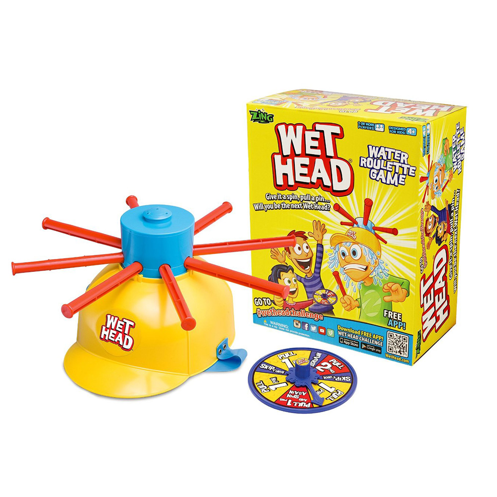 Wet Head Game Wet Hat water challenge Jokes&Funny Toys Water Roulette game Kid Toys Great game !(China (Mainland))