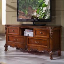 Antique High Living Room Wooden furniture lcd TV Stand p10287(China (Mainland))