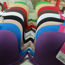 New Brand Design New Fashion Deep V Low Cut Women Sexy Push Up Bra Backless Invisible