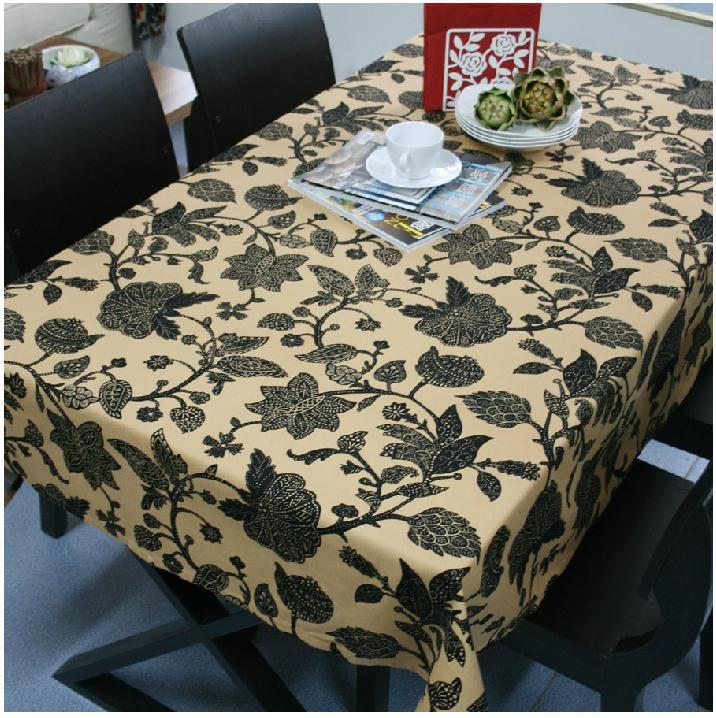 Free shipping A clearance sale The tablecloth of Europe type style Pure cotton canvas 140x180cm(China (Mainland))
