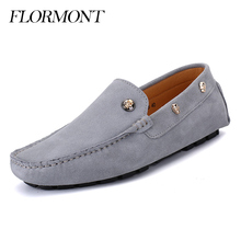 Spring Autumn Suede Leather Men Loafers Male Platform Shoes Summer Man Flats Casual Shoes Men's Moccasins Tods Shoes Size 38-44(China (Mainland))