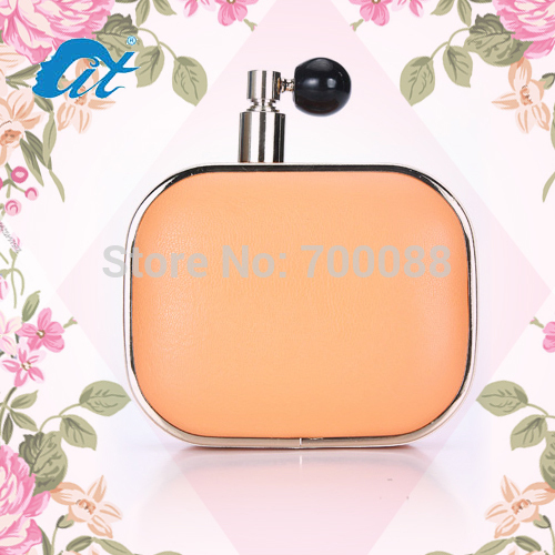 Free Shipping!! Women's Handbags Elegant Day Clutches Cologne Perfume Bottle Bag for Woman Clutches Shoulder Evening Bags(China (Mainland))