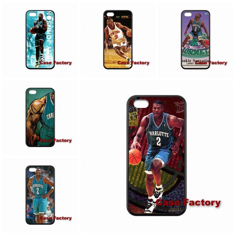 For Sony Xperia C M2 Z Z1 Z2 Z3 Z4 Z5 compact iPhone SE iPod Touch 6 Larry Johnson Power Forward(China (Mainland))