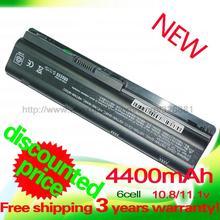 4400mAh battery for HP PAVILION DM4 DV3 DV5 DV6 DV7 G4 G6 G7 G72 G62 G42 for Compaq Presario  CQ32 CQ42 CQ43 CQ56 CQ62 CQ72 MU06
