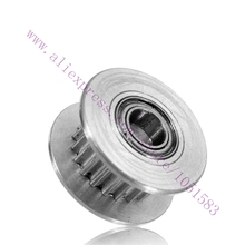 10pcs GT2 Timing Pulleys With bearing 3mm Bore 16Teeth H-Shaped Synchronous Wheel For 3D Printer Accessories