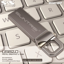 Suntrsi Hot USB Flash Drive real capacity pen Drive 32G 2G 4G 8G 16G thumb pendrive usb 2.0 memory stick u disk  free shipping(China (Mainland))