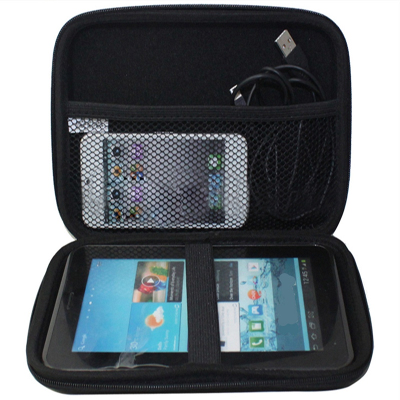 High Quality EVA PU Hard Shell Carry Case Bag Cover Protector For 7 Inches GPS Hard Disk Drive HDD Tab For Iphoen For pad(China (Mainland))