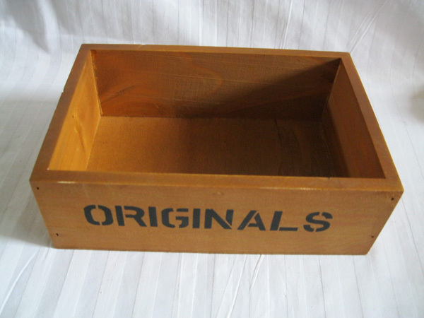 Free shipping D18.5*W12.5*H6CM wooden flower pot wood box planter Storage Box garden ware(China (Mainland))