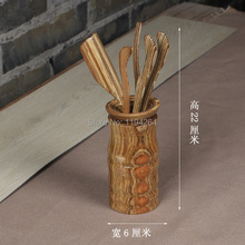 NEW Bamboo Tea Ceremony 6 Gentleman Chinese Kungfu Set Utensils