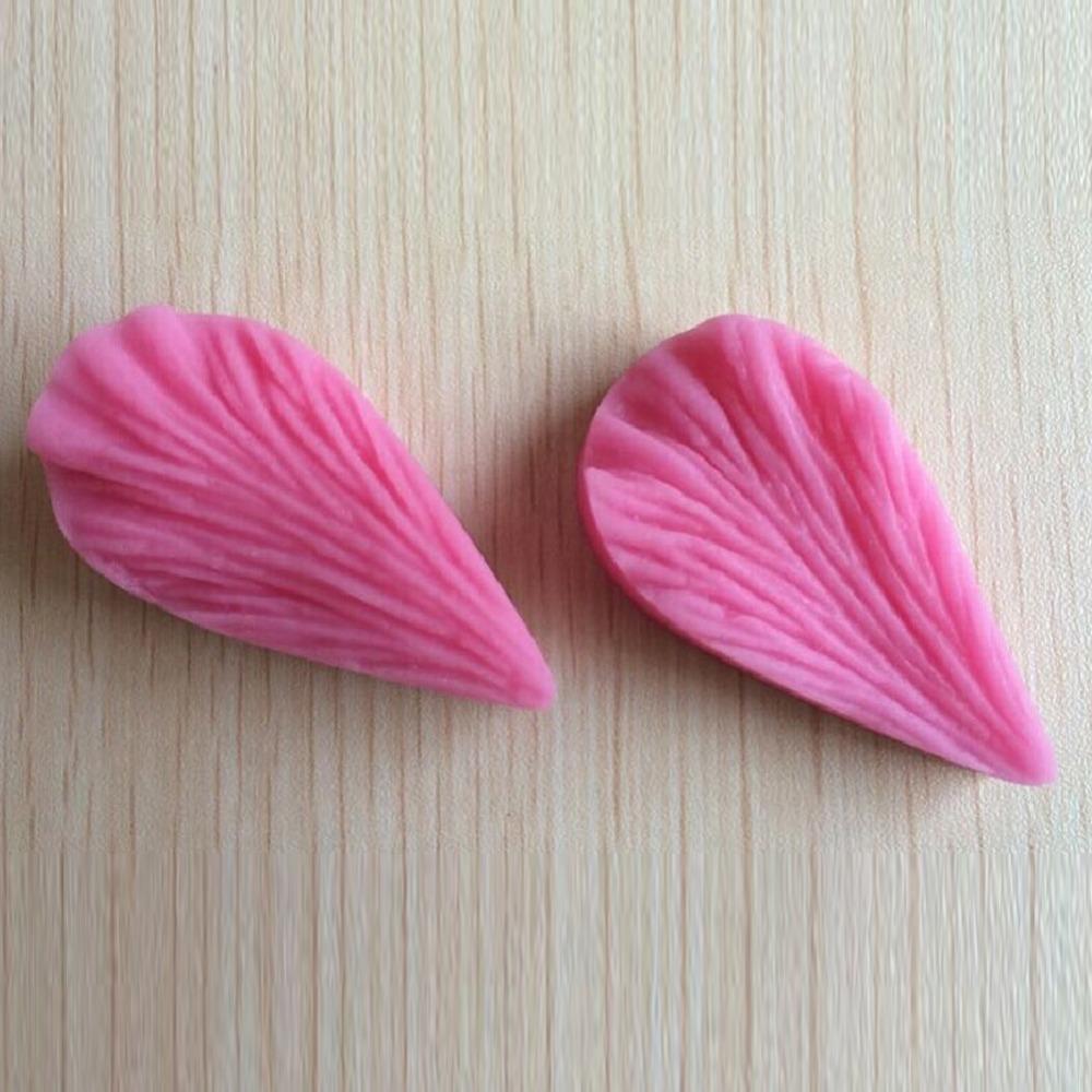 Leaf Shaped Silicone Press Mold Cake Decoration Fondant Cake 3D Food Grade Silicone Mould C344(China (Mainland))