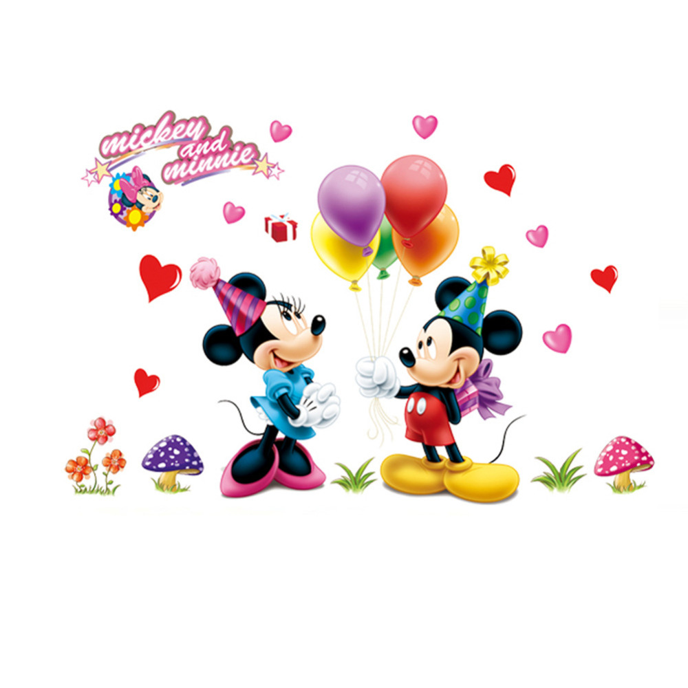 Mickey And Minnie Mouse Home Decor