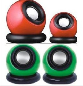 Cheap B-117 magic ball usb laptop small audio speaker mini speaker(China (Mainland))