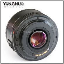 Buy YONGNUO YN 50mm Lens fixed focus lens EF 50mm F/1.8 AF/MF lense Large Aperture Auto Focus Lens Canon DSLR Camera for $47.99 in AliExpress store