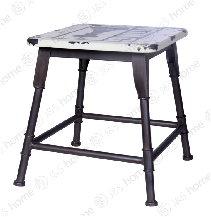 It features furniture industry sense to do the old personality stool bar French vintage American iron<br>