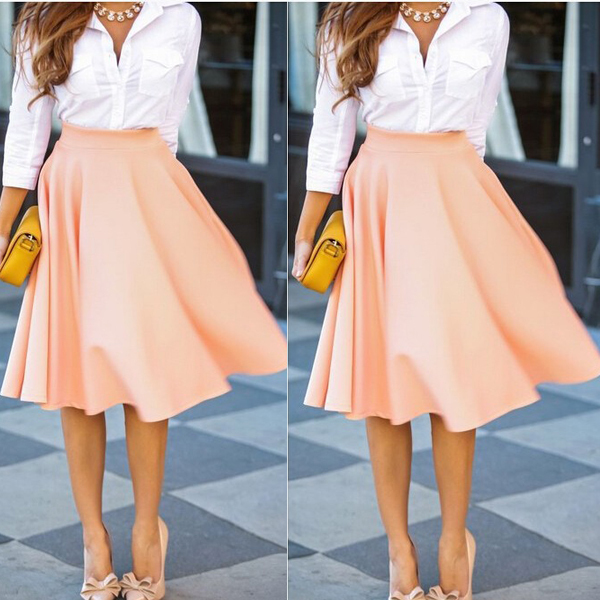 A Line Skirts For Women