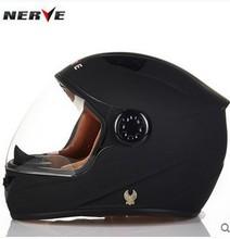 Authentic German NERVE carbon fiber helmet full helmet summer run-fog helmet(China (Mainland))