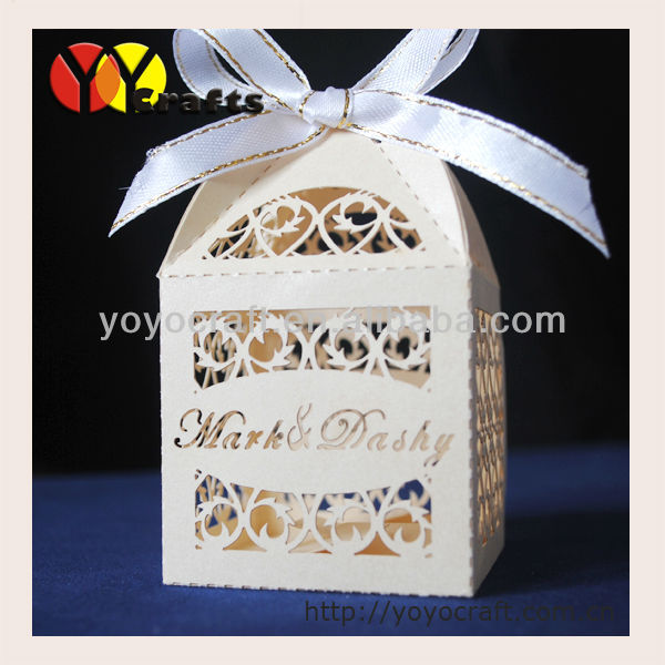Personalised Indian Wedding Gifts : laser-cut-party-supply-wedding-favors-and-gifts-box-with-free-name ...