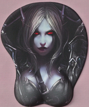 BIG DISCOUNT! cheap gaming Sylvanas Windrunner computer mat wrist rest 3D Silicon mouse pad gift 40#(China (Mainland))