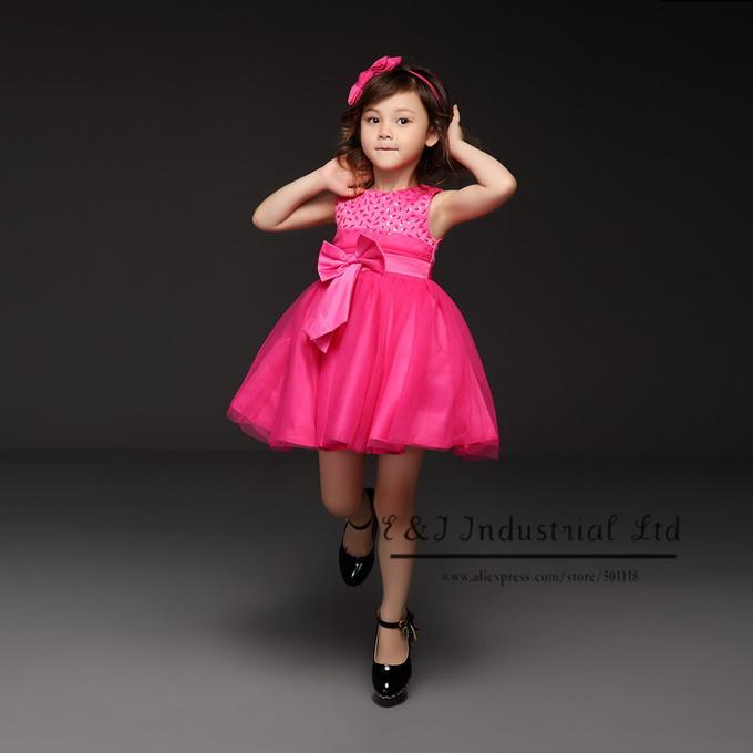 hot pink party dresses for girls eligent prom dresses