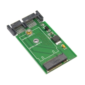 """Здесь можно купить  100pcs Mini PCI-E 2 Lane M.2 NGFF SSD to 1.8"""" Micro SATA 7+9 16pin Adapter Add on Cards PCBA for for E431 E531 X240S Y410P Y510P  Компьютер & сеть"""
