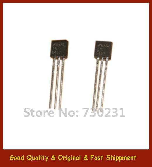 22N5457 TO-92 Low Level Audio Amplifier Switching N-Channel Transistors - Promise New and Original store