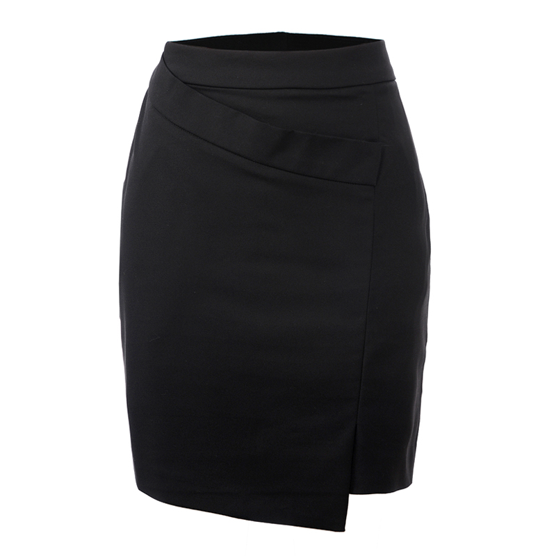GLO STORY Women Skirts 2016 New Arrivals Vintage Short Designer Pencil Skirt Wrap Front ...