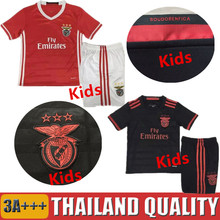 new 2016 Benfica Survetement Football Enfant 2017 Sport Lisboa e Benfica camisas 1617 Maillot Kids de Foot Shirt 2017 Uniforms(China (Mainland))