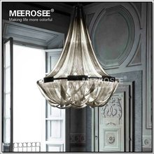 French Empire Chain Chandelier Light Fixture Long Chain Hanging Suspension Lustre Lamp Chain Light(China (Mainland))