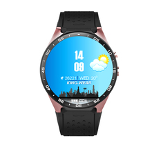 Buy KingWear KW88 Smart Watch GPS 3G wifi Smartwatch MTK6580 Quad Core Smart Wacht Heart Rate Pedometer Android iOS ZNSB02 for $118.55 in AliExpress store