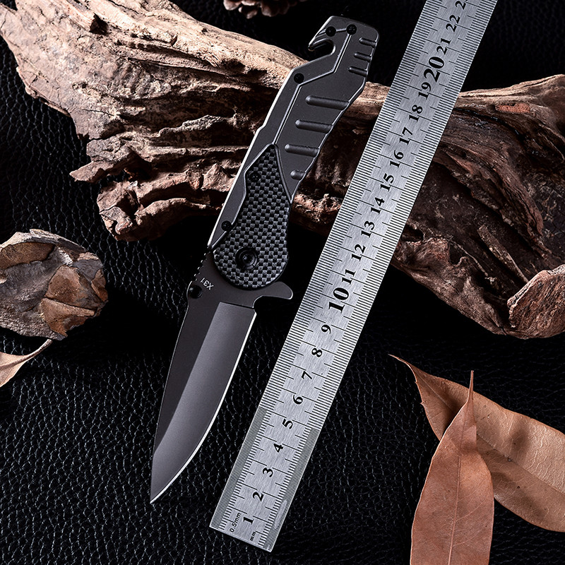 Buy X31 Navajas New Design Cold Steel Survival Tactical Folding Knife D2 Cs Go Steel Handle Hunting Combat Knives Facas Taticas cheap