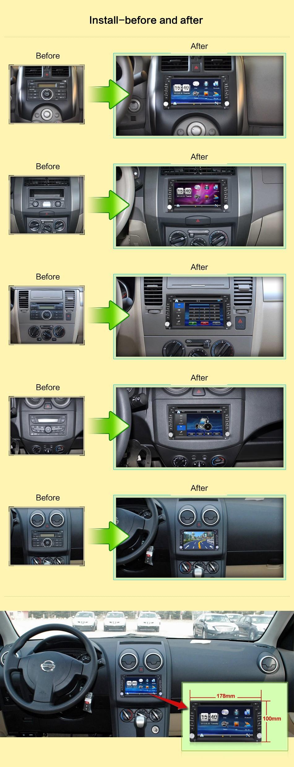 Купить 178*100 Универсальный Автомобильный Радиоприемник с Двойным 2 Din Автомобильный DVD Плеер с СЕНСОРНЫМ навигация В Тире ПК Автомобиля Стерео Видео USB Бесплатная Карта Автомобилей электроника